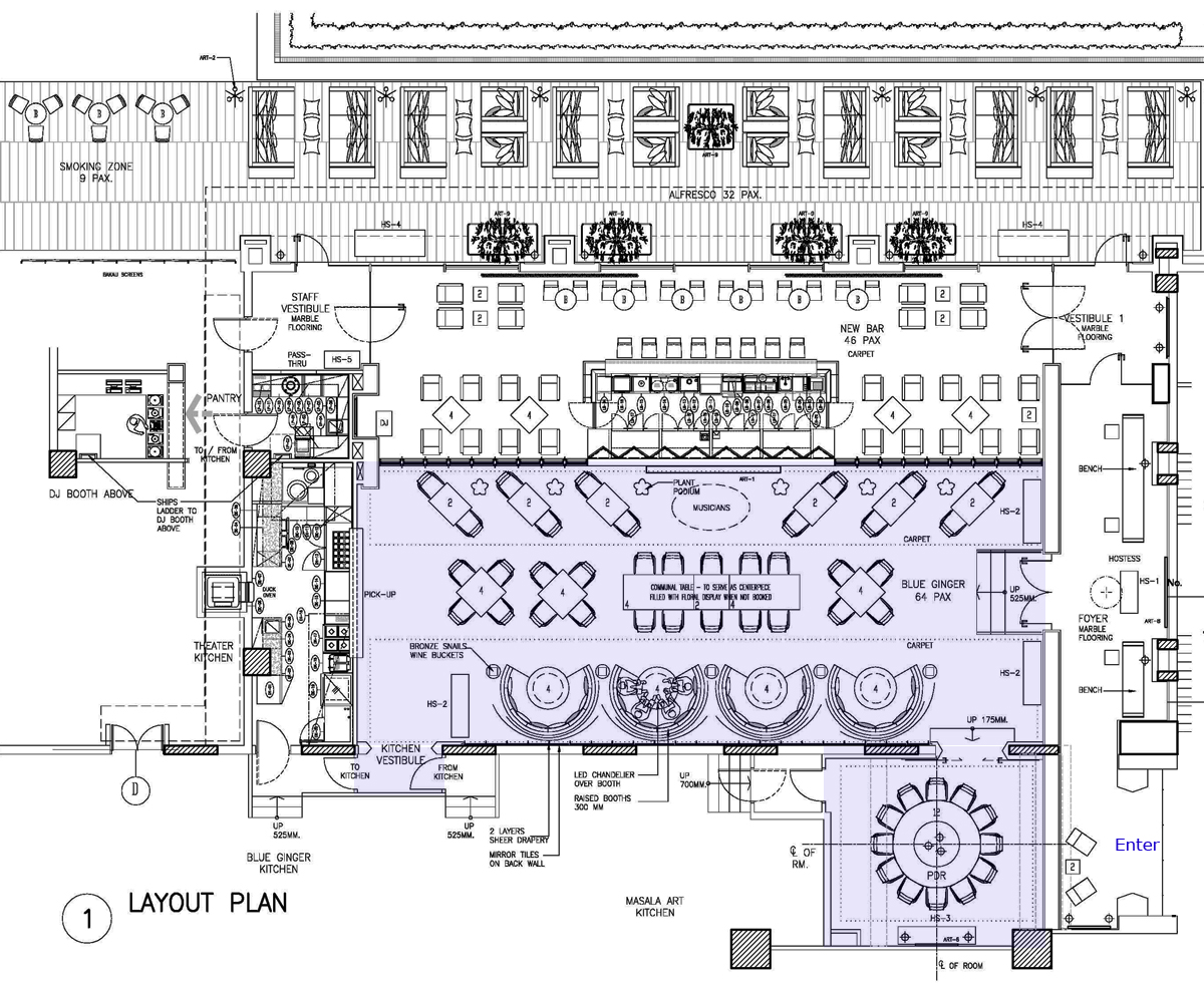 Bar plan layouts home design ideas essentials for Hotel design layout